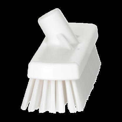 Щетка для мытья полов и стен, 305 мм, Жесткий, белый цвет