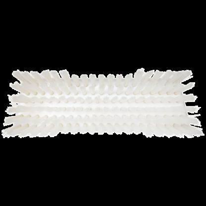 Щетка скребковая поломойная с ворсом двух длин, 245 мм, Жесткий, белый цвет