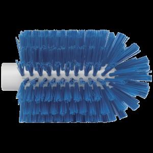 Щетка-ерш для очистки труб, гибкая ручка,Ø103 мм, средний ворс, синий цвет