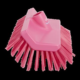 Щетка с изогнутой под углом колодкой, 265 мм, средний ворс, Розовый