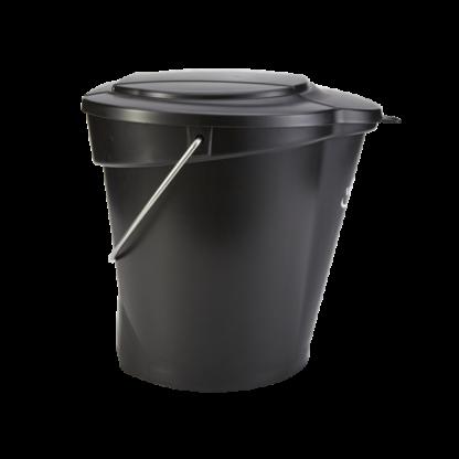 Ведро, 12 л, черный цвет
