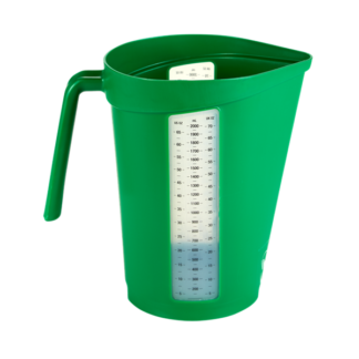 Мерный кувшин, 2 л, зеленый цвет