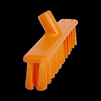 Щетка для подметания UST (Ультра Гигиеничная Технология), 400 мм, средний ворс, оранжевый цвет