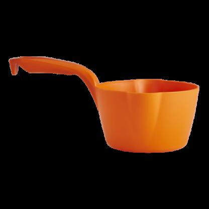 Круглый ковш, 1 л, оранжевый цвет