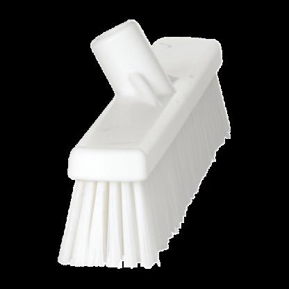 Щетка   для подметания с комбинированным ворсом, 410 мм, Мягкий/жесткий, белый цвет