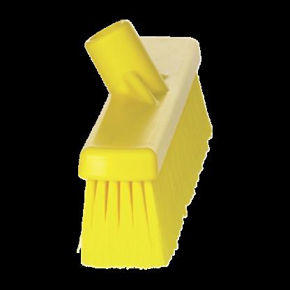 Щетка для подметания, 410 мм, Мягкий/ расщепленный, желтый цвет
