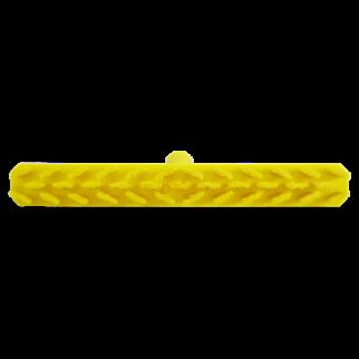 Скребковая щетка для пола UST (Ультра Гигиеничная Технология), 400 мм, Жесткий, желтый цвет