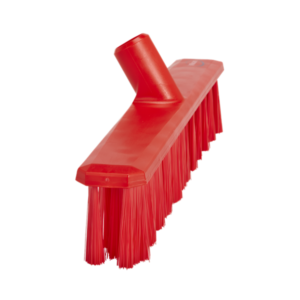 Щетка для подметания UST (Ультра Гигиеничная Технология), 400 мм, средний ворс, красный цвет