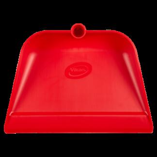 Совок с длинной ручкой, 330 мм, красный цвет