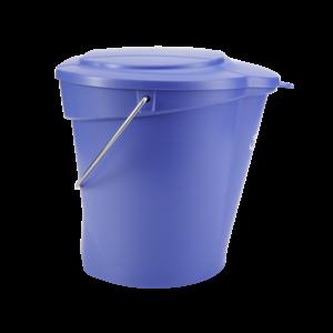Крышка для ведра, 12 л, фиолетовый цвет