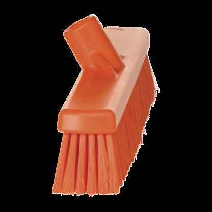 Щетка для подметания пола мягкая, 410 мм, Мягкий, оранжевый цвет