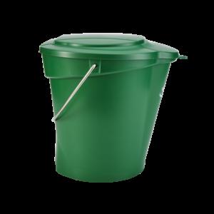 Крышка для ведра, 12 л, зеленый цвет