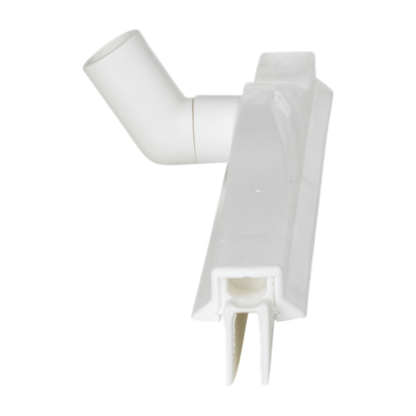 Гигиеничный сгон с подвижным креплением и сменной кассетой, 500 мм, белый цвет