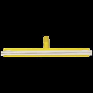 Классический сгон для пола с подвижным креплением, сменная кассета, 500 мм, желтый цвет