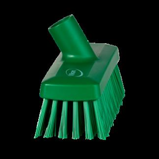 Компактная щетка для пола и стен, 225 мм, Жесткий, зеленый цвет