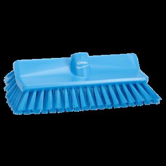 Щетка с изогнутой под углом колодкой, 265 мм, средний ворс, синий цвет