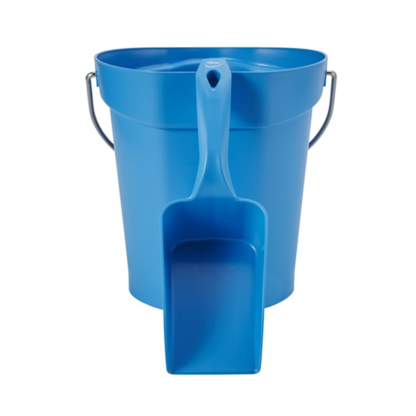Совок ручной малый, 0,5 л, синий цвет