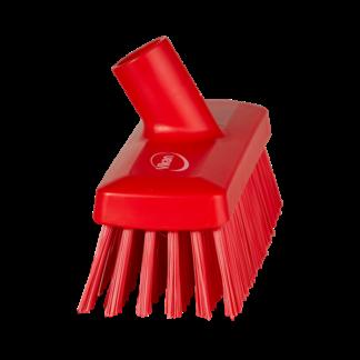 Компактная щетка для пола и стен, 225 мм, Жесткий, красный цвет