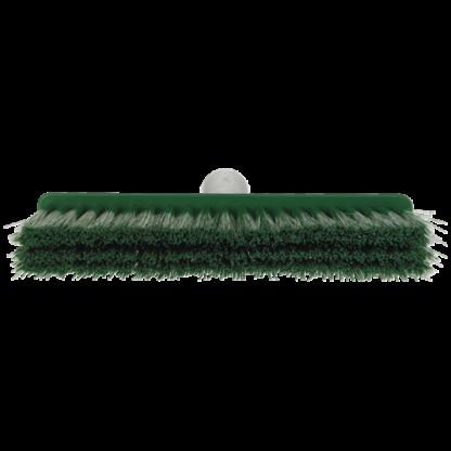 Щетка для подметания мягкая, 260 мм, Мягкий/жесткий, зеленый цвет