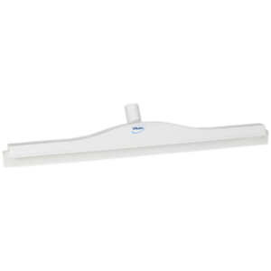 Гигиеничный сгон с подвижным креплением и сменной кассетой, 600 мм, белый цвет