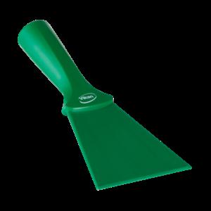 Нейлоновый скребок с винтовой ручкой, 100 мм, зеленый цвет