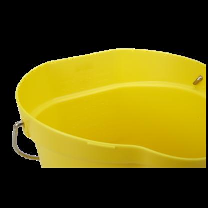 Ведро, 12 л, желтый цвет