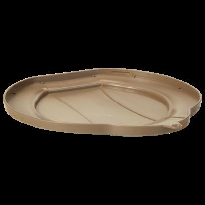 Крышка для ведра, 12 л, коричневый цвет