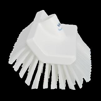 Щетка с изогнутой под углом колодкой, 265 мм, средний ворс, белый цвет