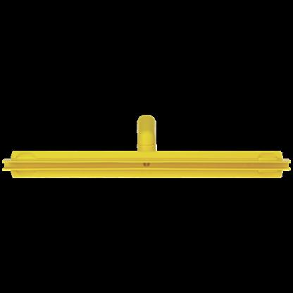 Гигиеничный сгон с подвижным креплением и сменной кассетой, 500 мм, желтый цвет