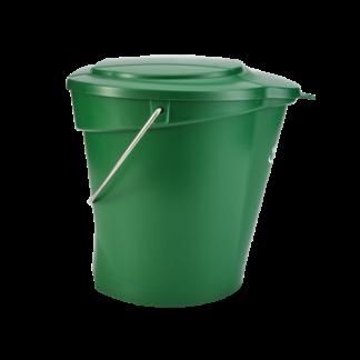 Ведро, 12 л, зеленый цвет