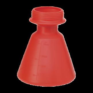 Бачок запасной, 2,5 л, красный цвет