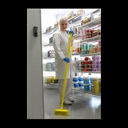 Компактная щетка для пола и стен, 225 мм, Жесткий, синий цвет