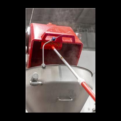 Пищевая тяпка, 270 мм,белый цвет