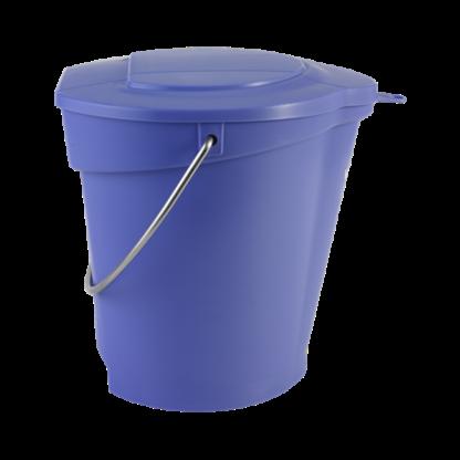 Крышка для ведра арт. 5688, 6 л, фиолетовый цвет
