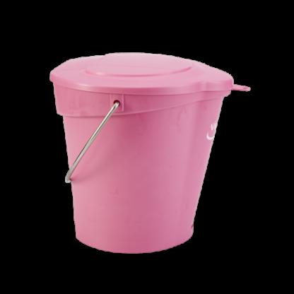 Крышка для ведра арт. 5688, 6 л, Розовый