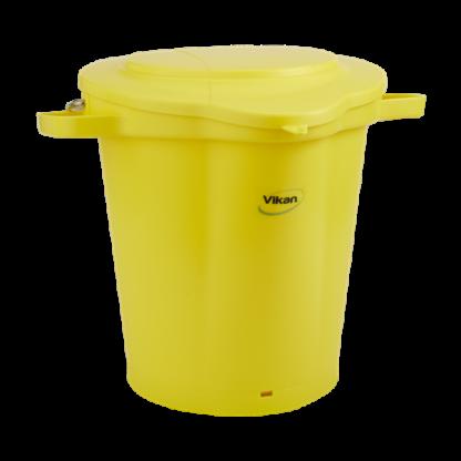 Крышка для ведра, 20 л, желтый цвет