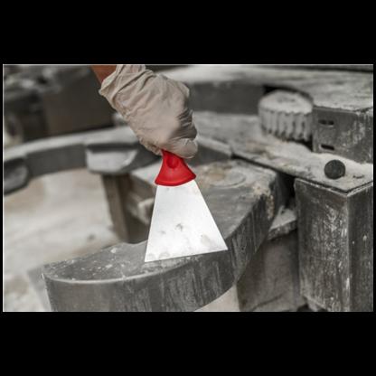 Ручной скребок нержавеющая сталь, 100 мм, Розовый