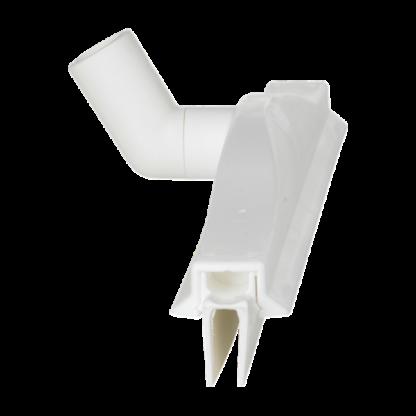 Гигиеничный сгон с подвижным креплением и сменной кассетой, 405 мм, белый цвет