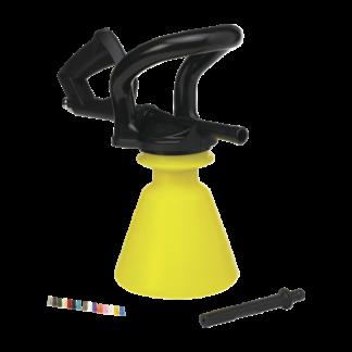 """Распылитель пены, 1/2"""", 2,5 л, желтый цвет"""