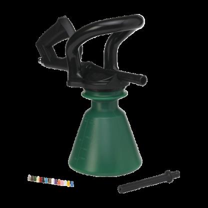 """Распылитель пены, 1/2"""", 2,5 л, зеленый цвет"""