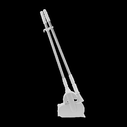 """Набор """"Щетка с совком"""", 370 мм, белый цвет"""