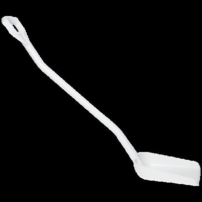 Эргономичная лопата, 340 x 270 x 75 мм., 1280 мм,  белый цвет