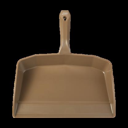 Совок для мусора, 330 мм, коричневый цвет