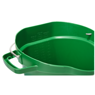 Ведро, 20 л, зеленый цвет