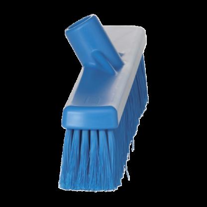 Щетка для подметания, 410 мм, Мягкий/ расщепленный, синий цвет