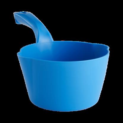 Круглый ковш, 1 л, синий цвет