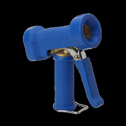 Пистолет для подачи воды, повышенной эксплуатационной надежности, синий цвет