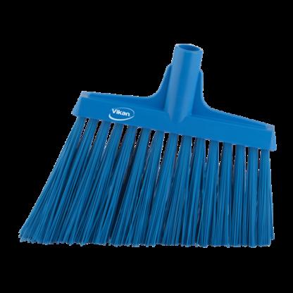 Щетка для подметания с ворсом под углом, 290 мм, Очень жесткий, синий цвет