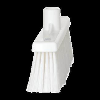Щетка  для подметания с прямой соединительной частью, 310 мм, средний ворс, белый цвет