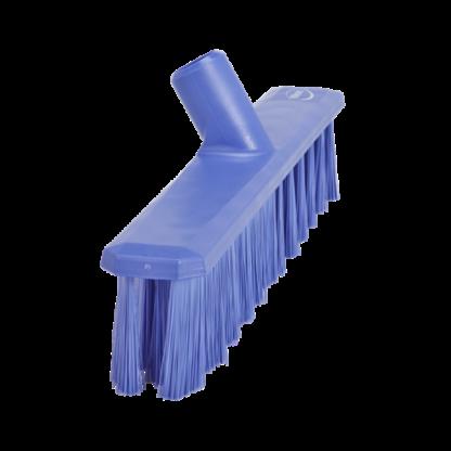Щетка для подметания UST (Ультра Гигиеничная Технология), 400 мм, средний ворс, фиолетовый цвет